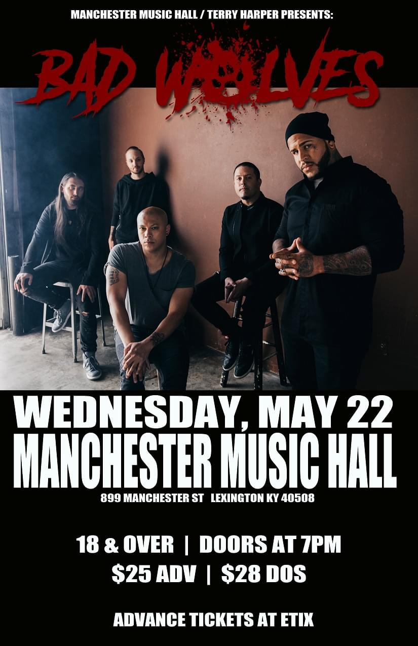 Win Tickets To See Bad Wolves