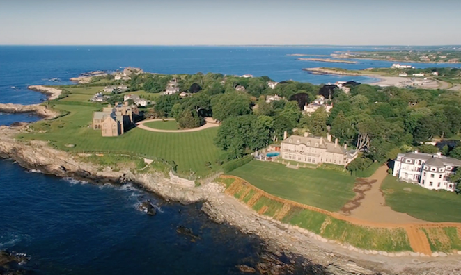 WATCH: Newport by air in super high definition