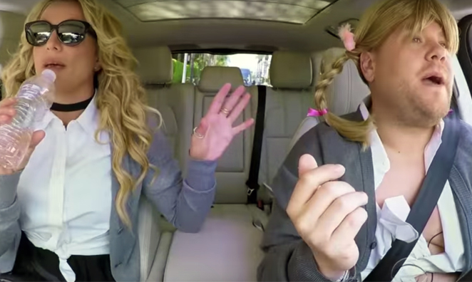 Britney Spears Joins James Corden for Carpool Karaoke and It's Everything You Hoped It Would Be!