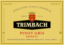 Wine Wednesday review Trimbach Reserve Pinot Gris