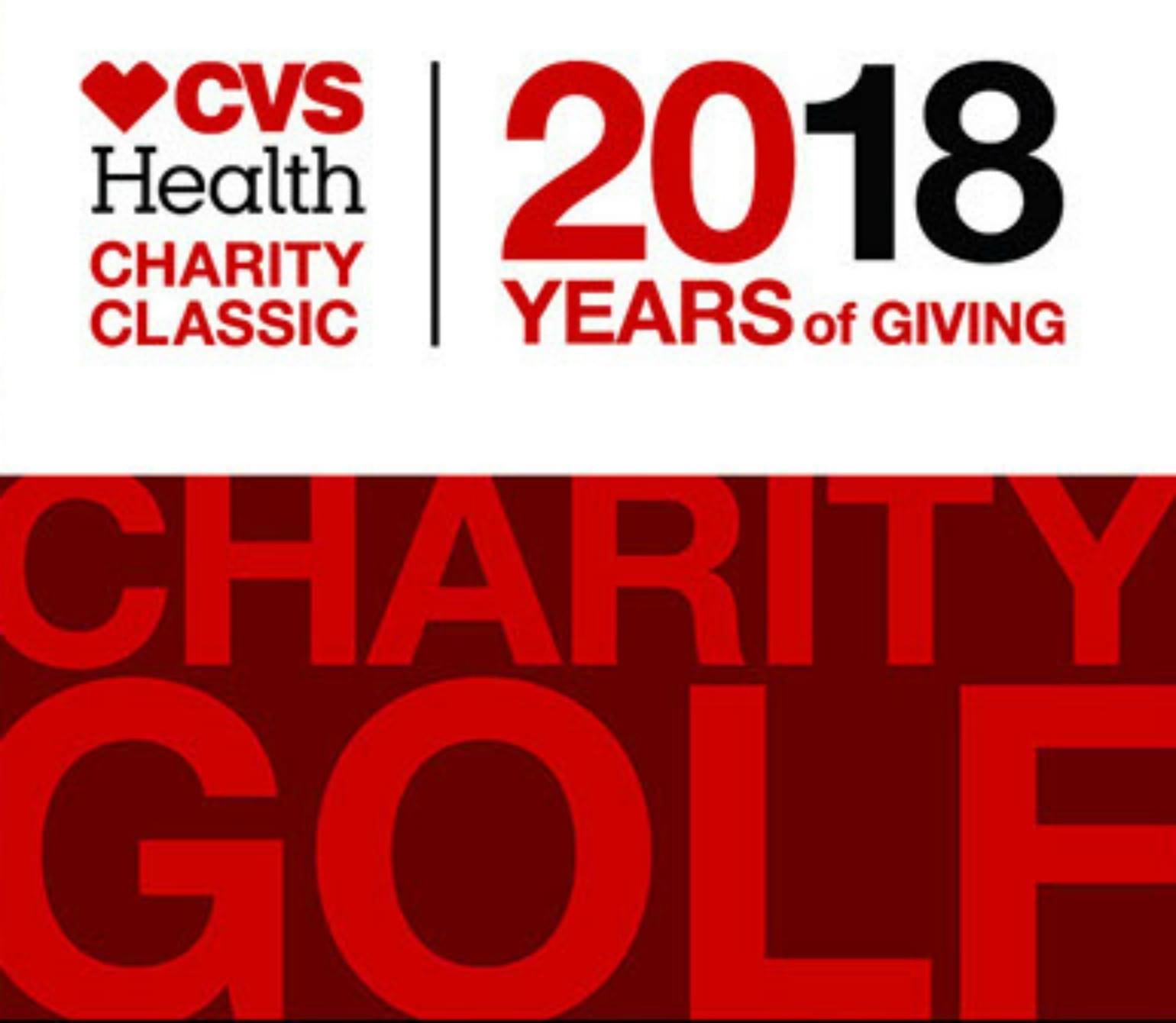 Heather & Steve with Golfer Brad Faxon about the 2018 CVS Health Charity Classic