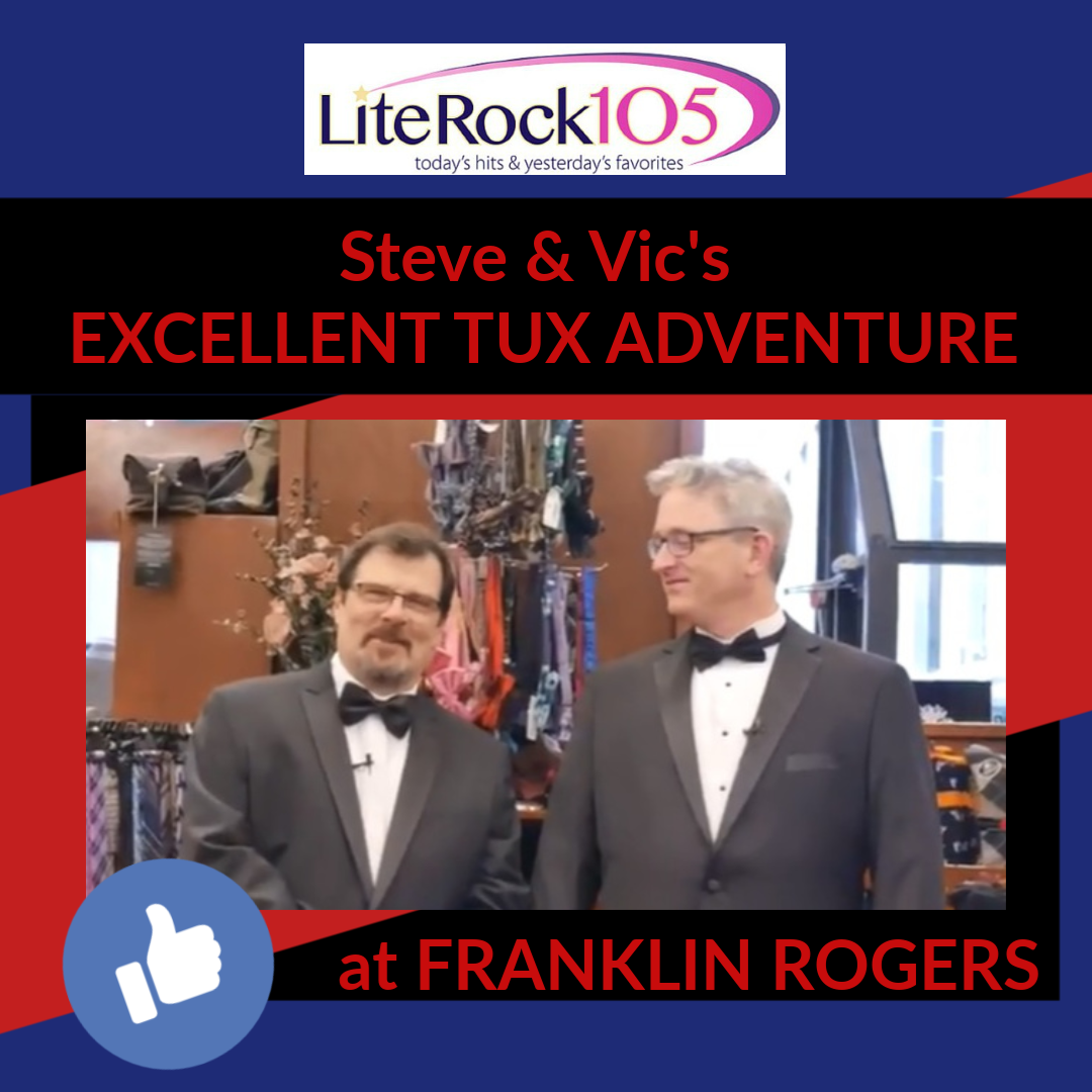 TUX Shopping with Steve and Vic at Franklin Rogers!