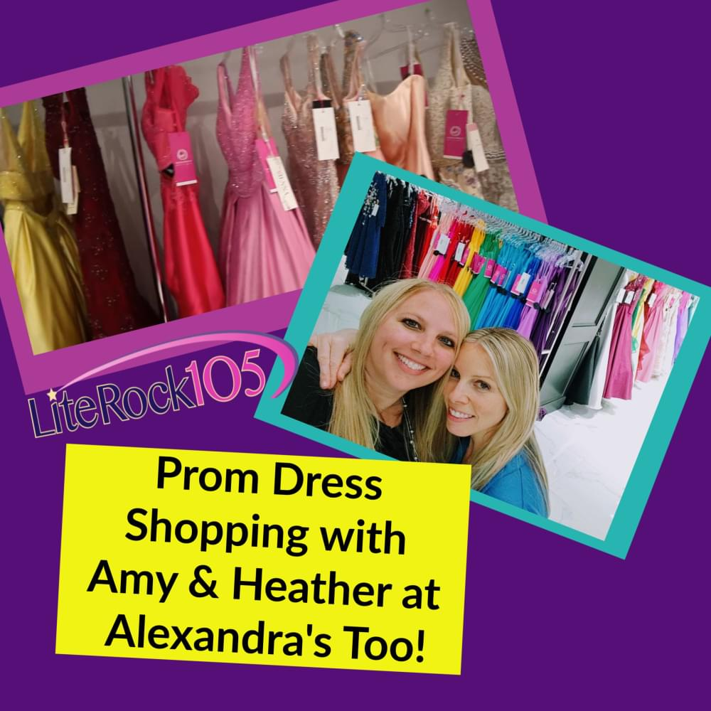Prom Dress Shopping with Amy & Heather at Alexandra's Too!