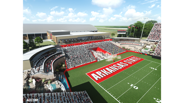 Arkansas State Reveals Stadium Expansion And New Red Wolves Foundation Web Site