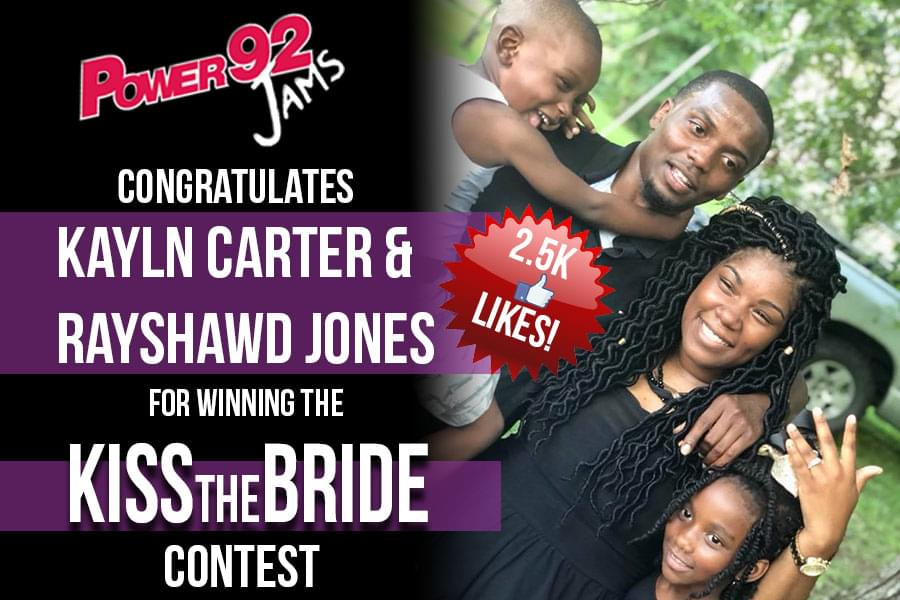 """Kiss The Bride"" Wedding Contest Winner!"