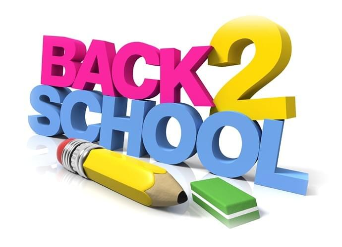 Back To School Event List