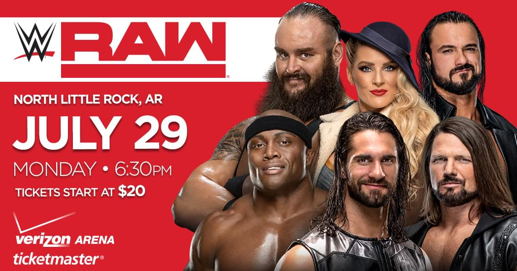 WWE MONDAY NIGHT RAW – INTERNET ONLY PRESALE