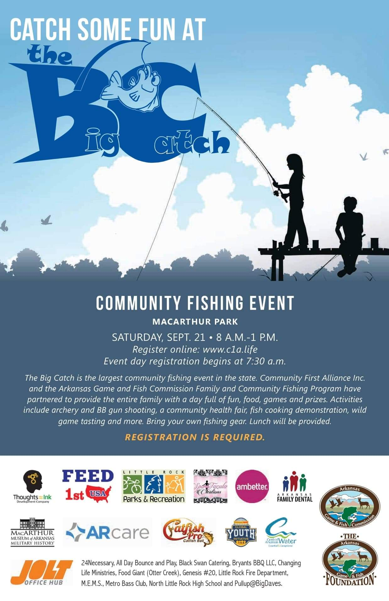 The Big Catch Community Fishing Event