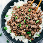 Robyn's Korean Ground Beef and Rice Bowl Recipe
