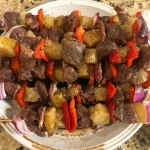 Kevin's Hawaiian Steak Kabobs