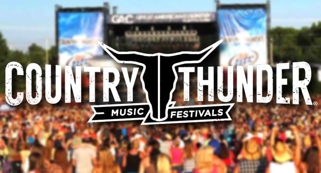 COUNTRY THUNDER IS COMING THIS MARCH TO THE OSCEOLA HERITAGE PARK!