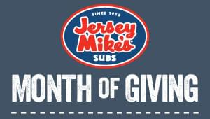 Month of Giving at Jersey Mike's This Month