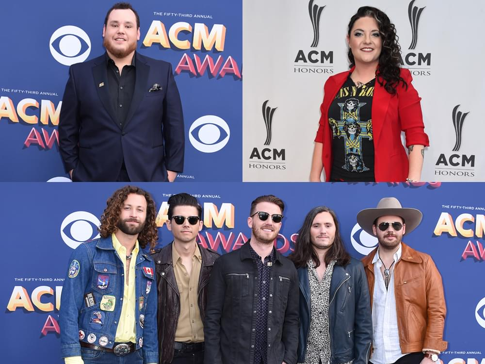 Watch Carrie Underwood Surprise Luke Combs, Ashley McBryde & Lanco With ACM Awards