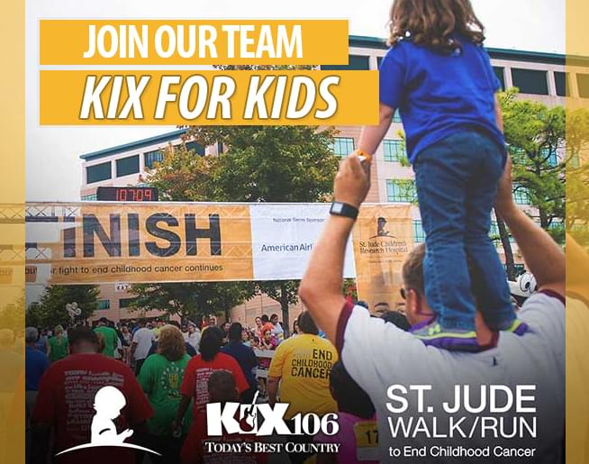 St. Jude Walk/Run to End Childhood Cancer – Join the KIX for Kids Team