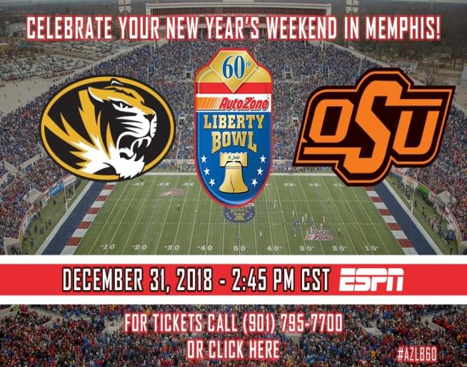 60th AutoZone Liberty Bowl – Liberty Bowl Stadium