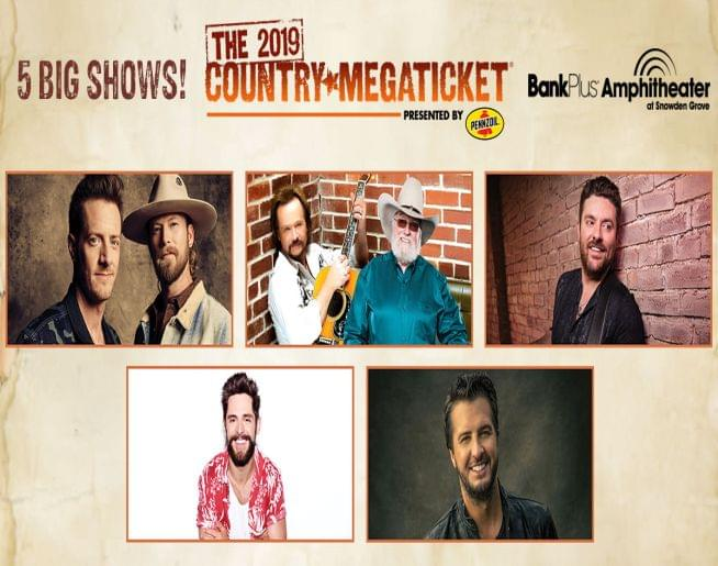 2019 Country Megaticket – BankPlus Amphitheater