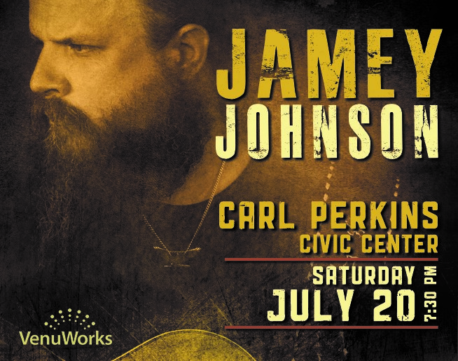 Jamey Johnson – Carl Perkins Civic Center