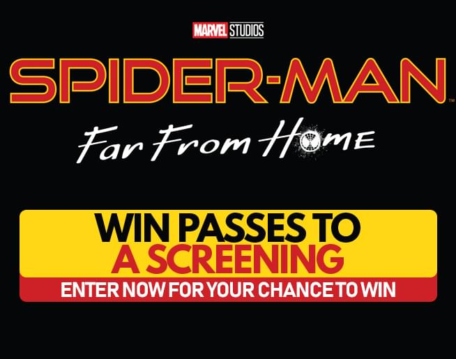 Spider-Man: Far From Home – Win Passes to a Screening