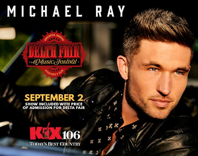 Michael Ray – Delta Fair and Music Festival
