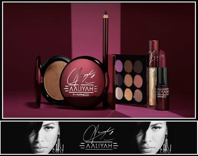 Aaliyah for MAC