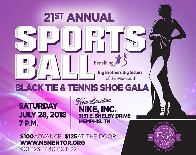 Sports Ball 2018 – Big Brothers Big Sisters of the Mid-South
