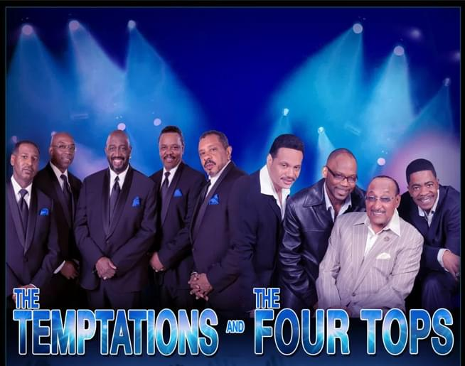 The Temptations and The Four Tops – Orpheum Memphis