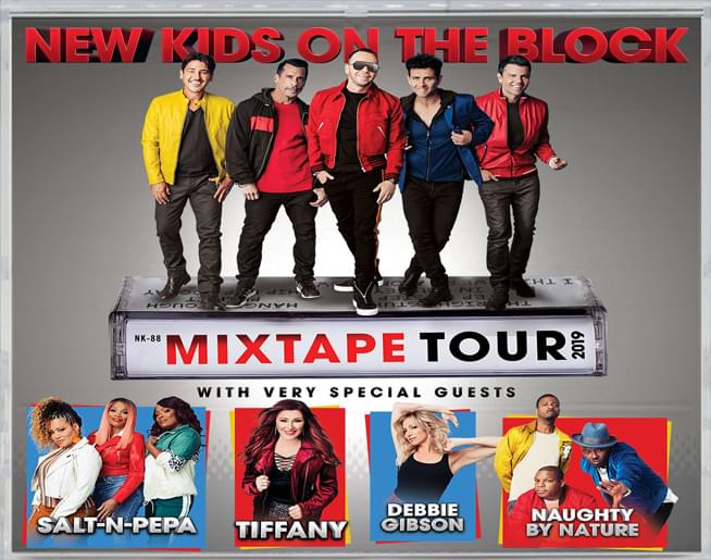 NKOTB Mixtape Tour – FedExForum