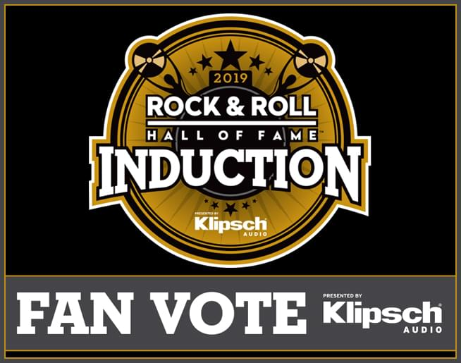 Rock & Roll Hall Of Fame – Fan Vote