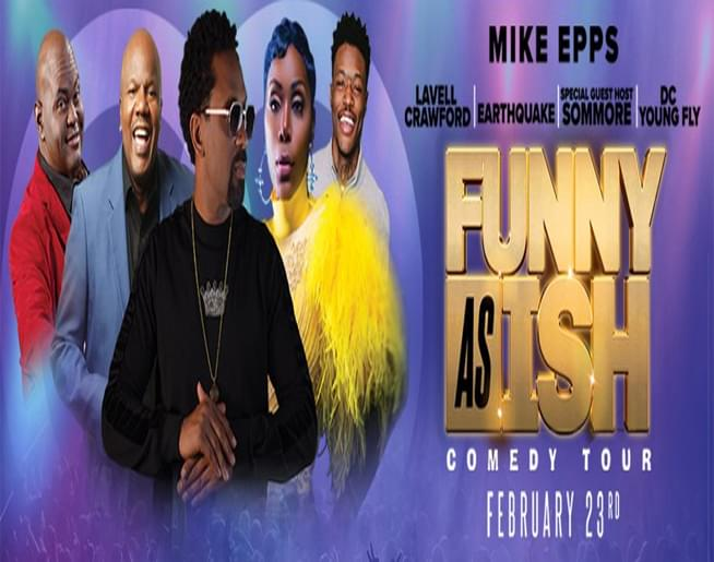 Funny As Ish Comedy Tour – Landers Center
