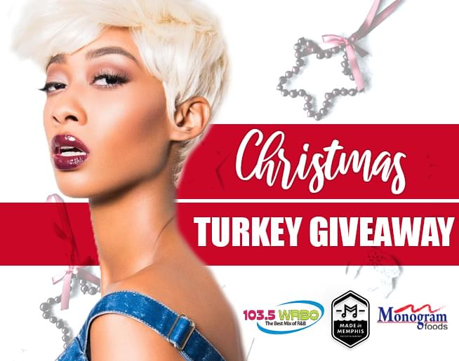 Christmas Turkey Giveaway – Made in Memphis