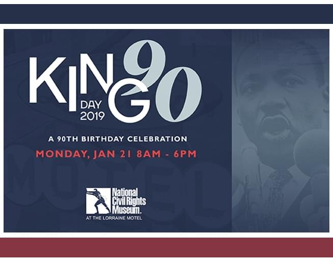 Mlk Day 2019 National Civil Rights Museum 103 5 Wrbo Fm