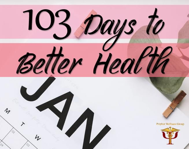 103 Days to Better Health on 103.5 WRBO
