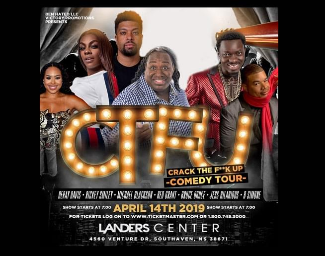 Cracking Up Comedy Tour – Landers Center