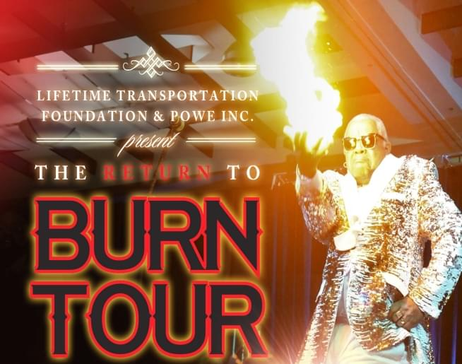 The Return To Burn Tour – Cannon Center