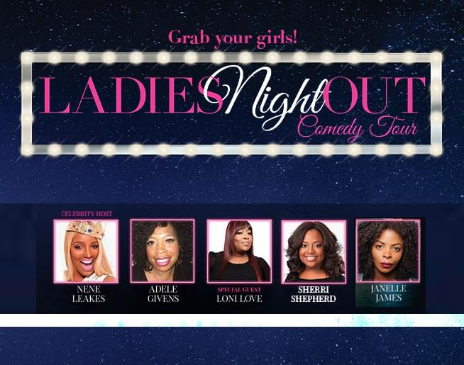 Ladies Night Out Comedy Tour – Horseshoe Casino