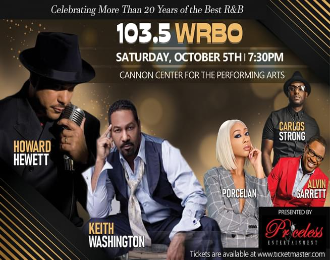 Howard Hewett – Cannon Center