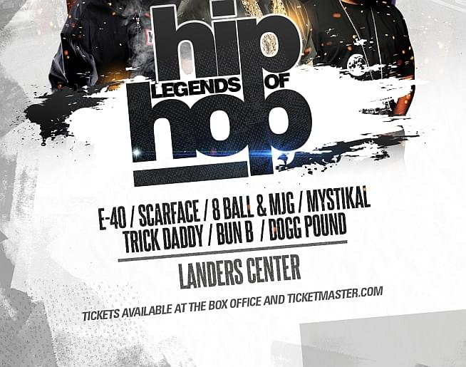 Legends of Hip Hop – Landers Center