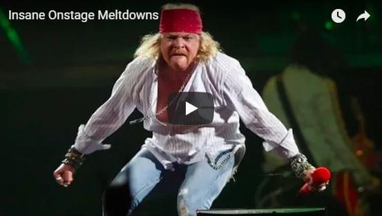 [WATCH] Insane Onstage Meltdowns