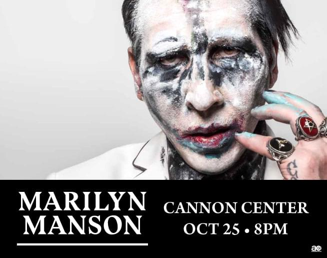 Marilyn Manson – Cannon Center