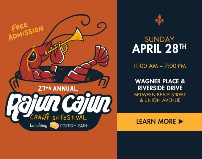 Rajun Cajun Crawfish Festival – Porter Leath