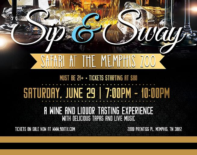 Sip & Sway Safari at the Memphis Zoo