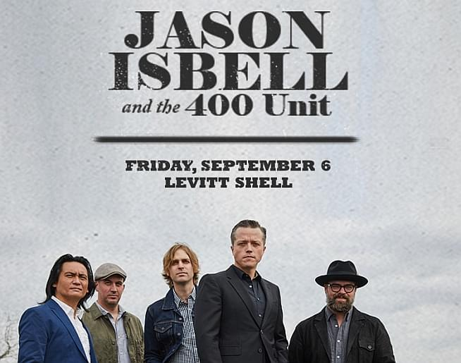 Jason Isbell and the 400 Unit – Levitt Shell