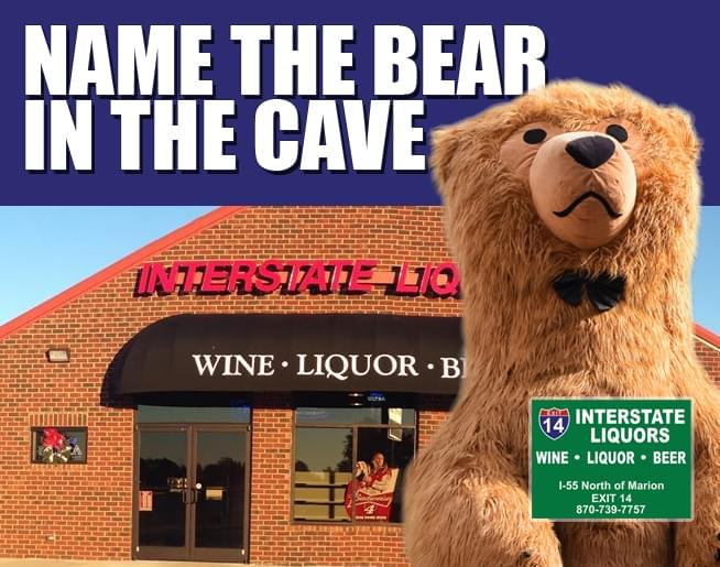 Interstate Liquors – Name The Bear in the Cave
