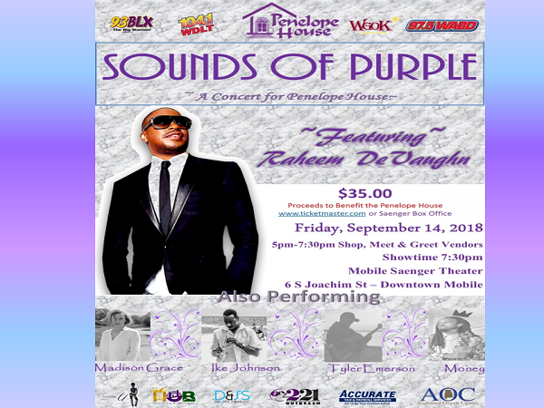 Sounds Of Purple- A Concert For Penelope House
