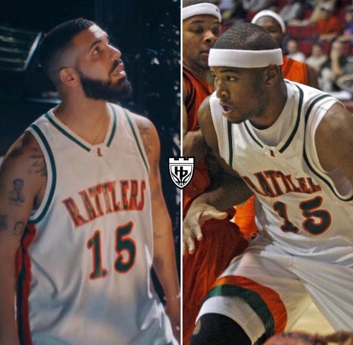 DRAKE ROCKS HIGH SCHOOL JERSEY IN NEW VIDEO!