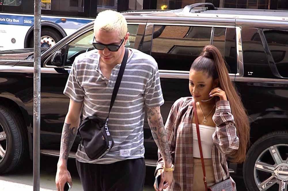 Ariana Grande and Pete Davidson Calls of their Engagement