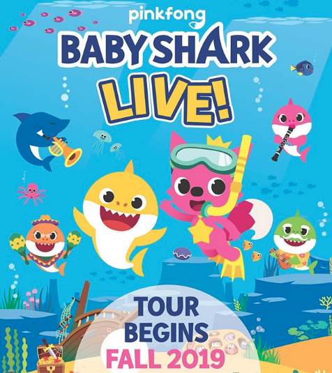 """""""Baby Shark"""" Is Hitting the Road with 100-Date Live Show"""