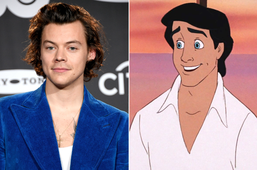 Harry Styles Passes On Playing Prince Eric In 'Little Mermaid'