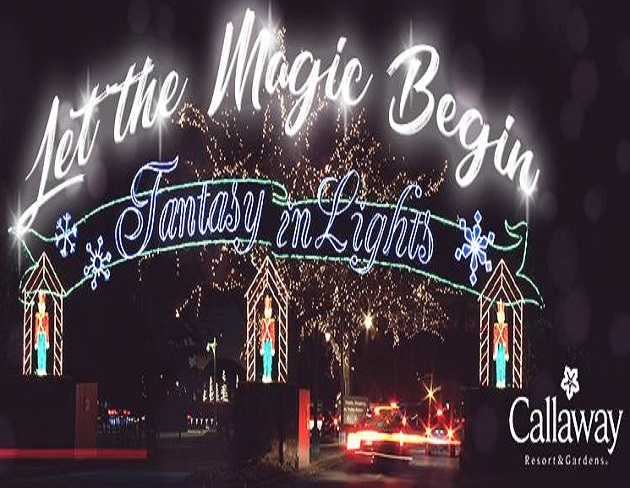 Callaway Resort Gardens Fantasy In Lights Among Top 10 Best