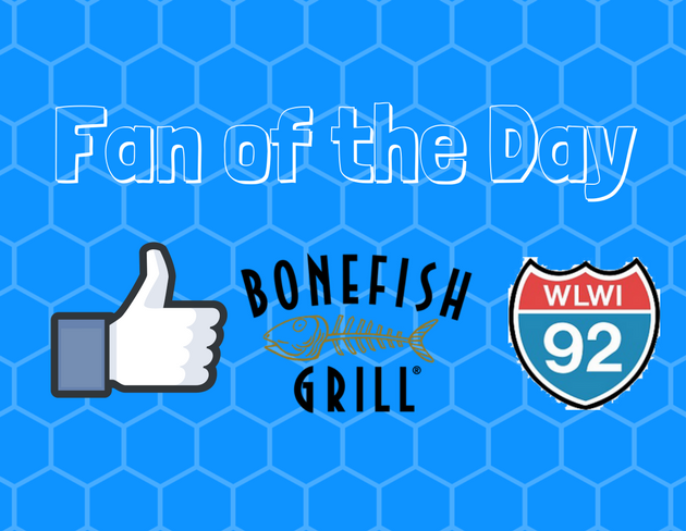 Bonefish Grill Gift Cards for I-92's Fan of the Day